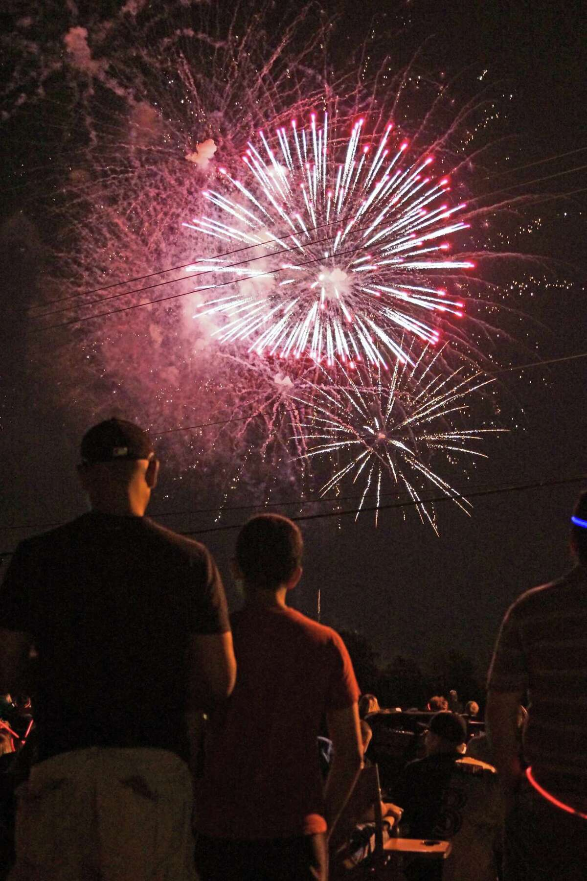 July 4 fireworks celebration in Tomball