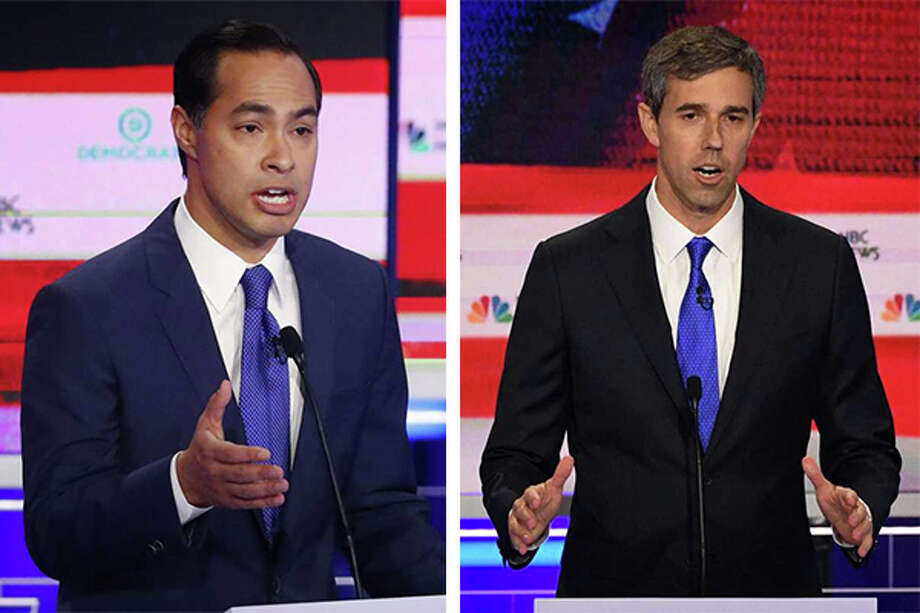 >>>Before the Democratic Party's next presidential primary debate, see where candidates such as Joe Biden, Beto O'Rourke and Julian Castro are sitting in the latest Texas polls. Photo: Getty Images