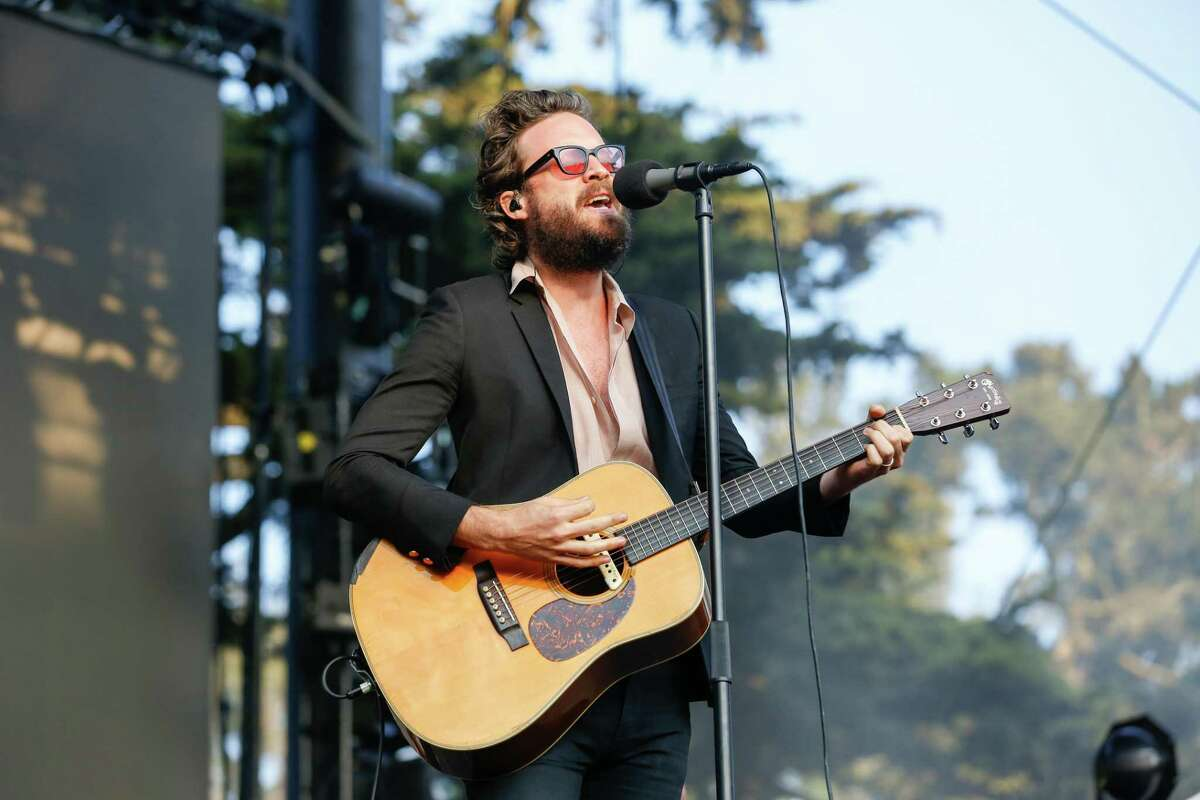 Father John Misty performs at the Twin Peaks stage at Outside Lands Music Festival on Friday, August, 2018 in San Francisco, Calif.