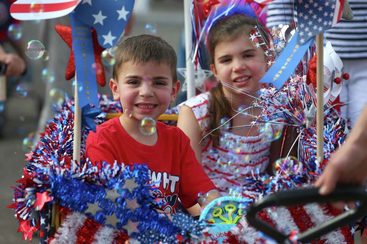 4th of July parade in Bellaire.