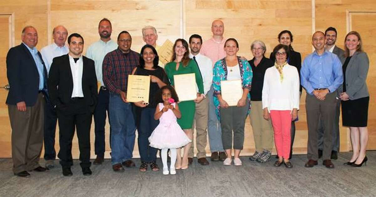 The home of Higganum residents Sean Holmes and Carla Waclawski was chosen as the overall winner during the ninth annual Energize Connecticut Zero Energy Challenge.