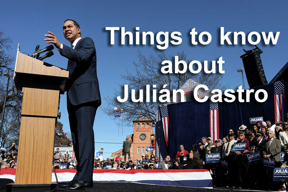 Check out the gallery for more facts about Julián Castro, San Antonio's rising Democratic Party star. Photo: Lisa Krantz/San Antonio Express-News / San Antonio Express-News