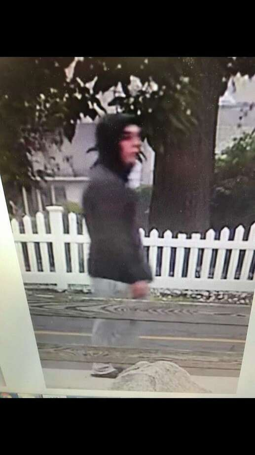 Branford police are looking for help identifying this man after a woman was assaulted while jogging Tuesday evening. Photo: Branford Police Department
