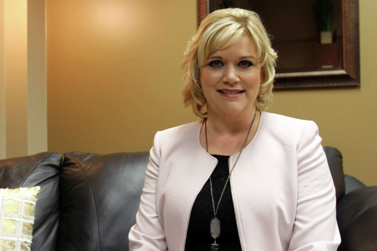 Pasadena ISD Superintendent DeeAnn Powell, pictured in 2017, said the district will no longer provide online-only classes starting in January to students who failed one or more classes in the first semester. Powell said too many students struggled in virtual classes, prompting the change.