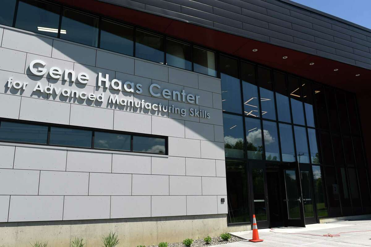 The new Gene F. Haas Hudson Valley Center for Advanced Manufacturing Skills on Wednesday, June 26, 2019 at Hudson Valley Community College in Troy, NY. (Phoebe Sheehan/Times Union)