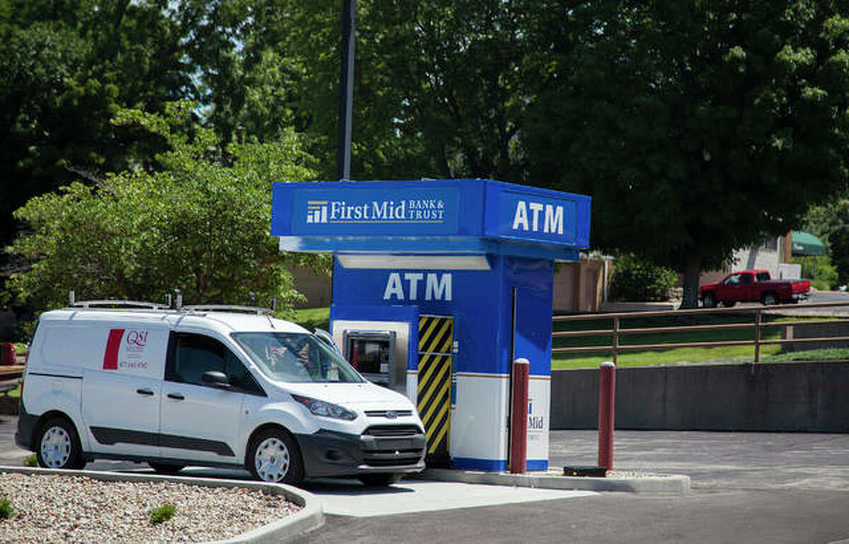 Downtown Alton will get a new ATM when First Mid Bank and Trust opens its new facility Monday, July 1, at 111 E. 4th St.