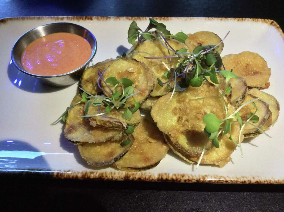 Carolina fried pickles with Comeback Sauce (recipe for sauce in column) is served at Dizzy's Club.