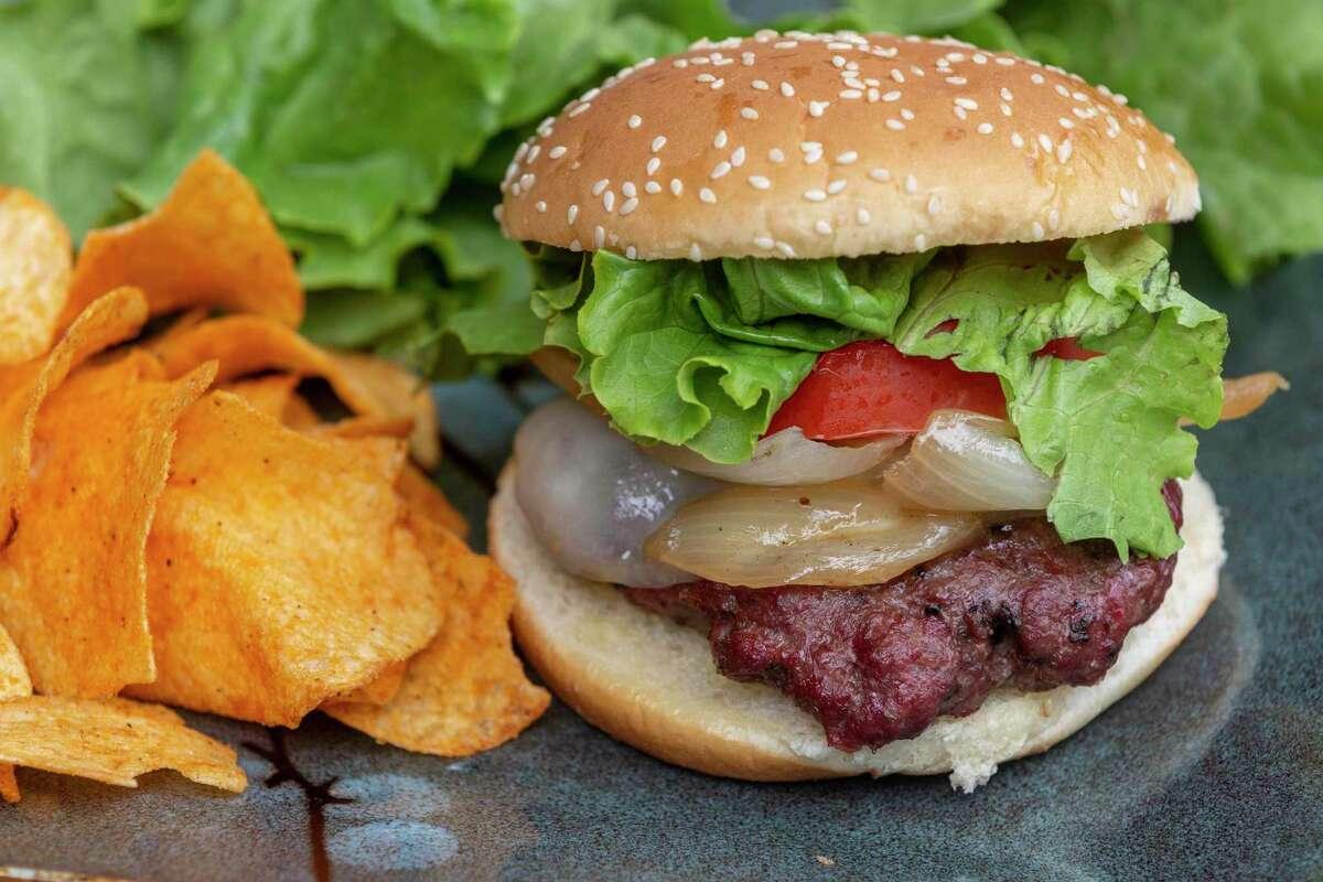 Smoked Onion Cheeseburger