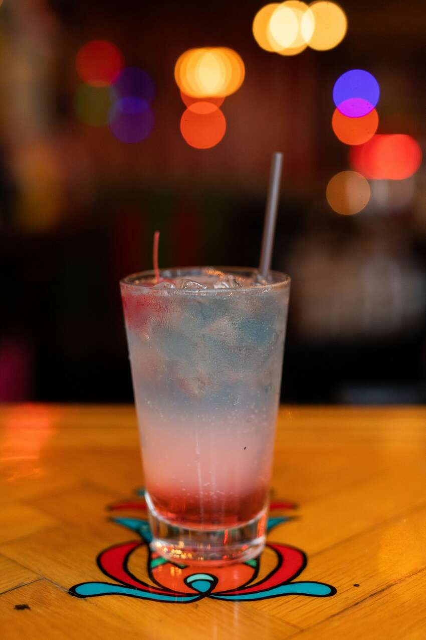 Unicorn: Meet your maker with the Americorn this July 4th. Yes, that's really its name. Take on this tall (and dangerous) glass of watermelon schnapps, bubble gum vodka, sour, and Sprite. It's all topped with, prepare yourself, more vodka -- blue lemonade style. The boozy beast comes from none other than our favorite carnival-gone-cocktail destination: Capitol Hill's Unicorn. Add on a maraschino cherry, and let the fireworks ensue within.