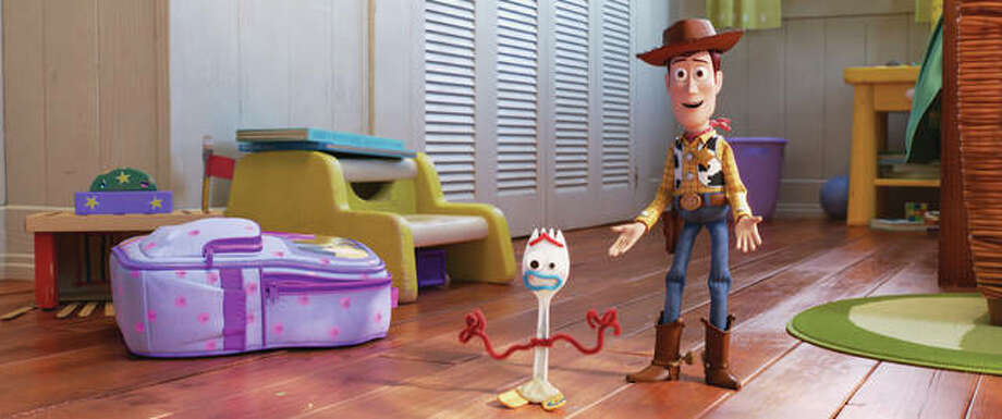 """A scene from the movie """"Toy Story 4."""" Photo: Disney/Pixar Via AP