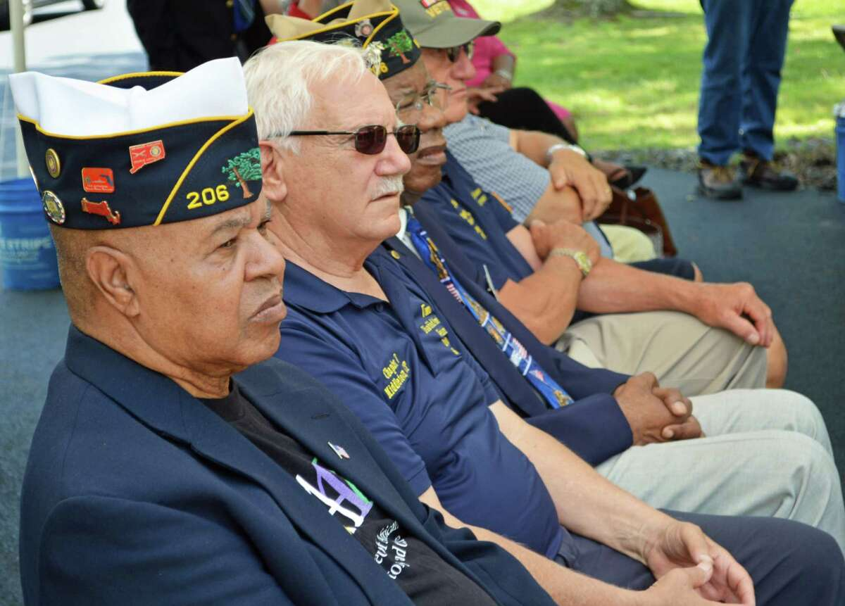 Vietnam veterans gathered Thursday for a ceremony outside the Middletown Veterans Museum allowing Hmong and Laotian Special Guerrilla Unit vets in Connecticut who operated in support of the U.S. military during the war in Vietnam.