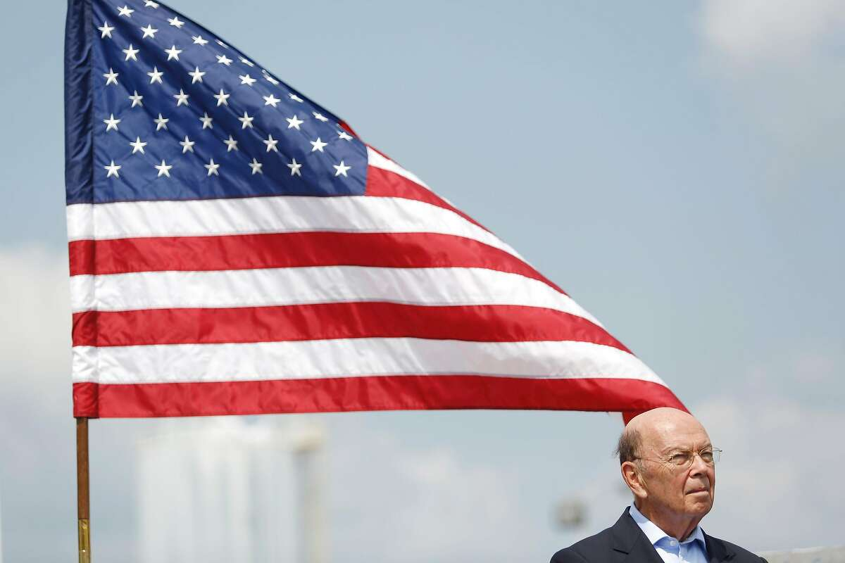 FILE -- Commerce Secretary Wilbur Ross, who oversees the Census Bureau, in Hawesville, Kent., Aug. 22, 2018. The fight between Congress and President Donald Trump over census documents revolves around one crucial issue: discerning the true motive of the Trump administration when it made a historic decision to ask all residents in the country if they were an American citizen. (Luke Sharrett/The New York Times)