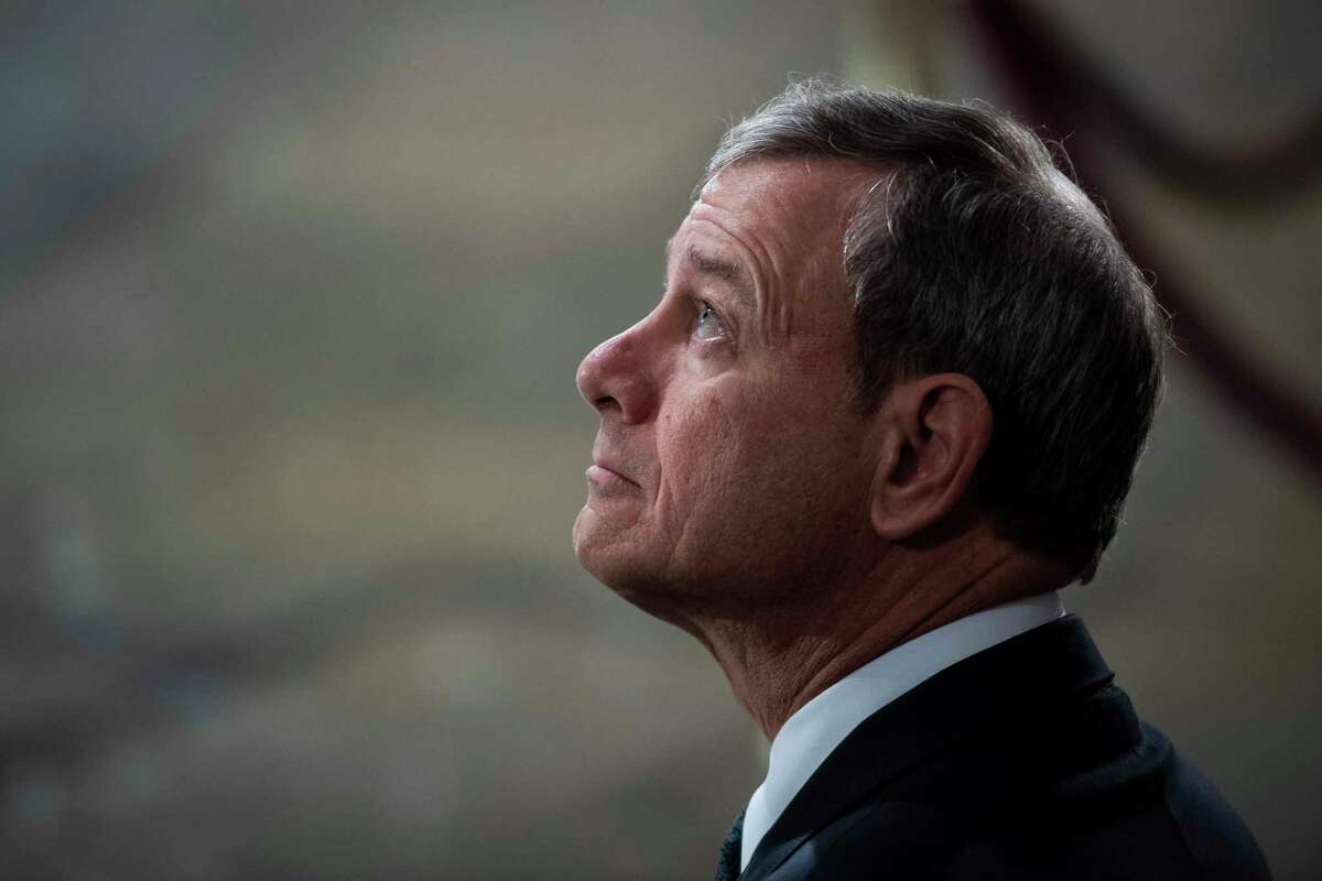 Supreme Court Chief Justice John Roberts found middle ground on the census.