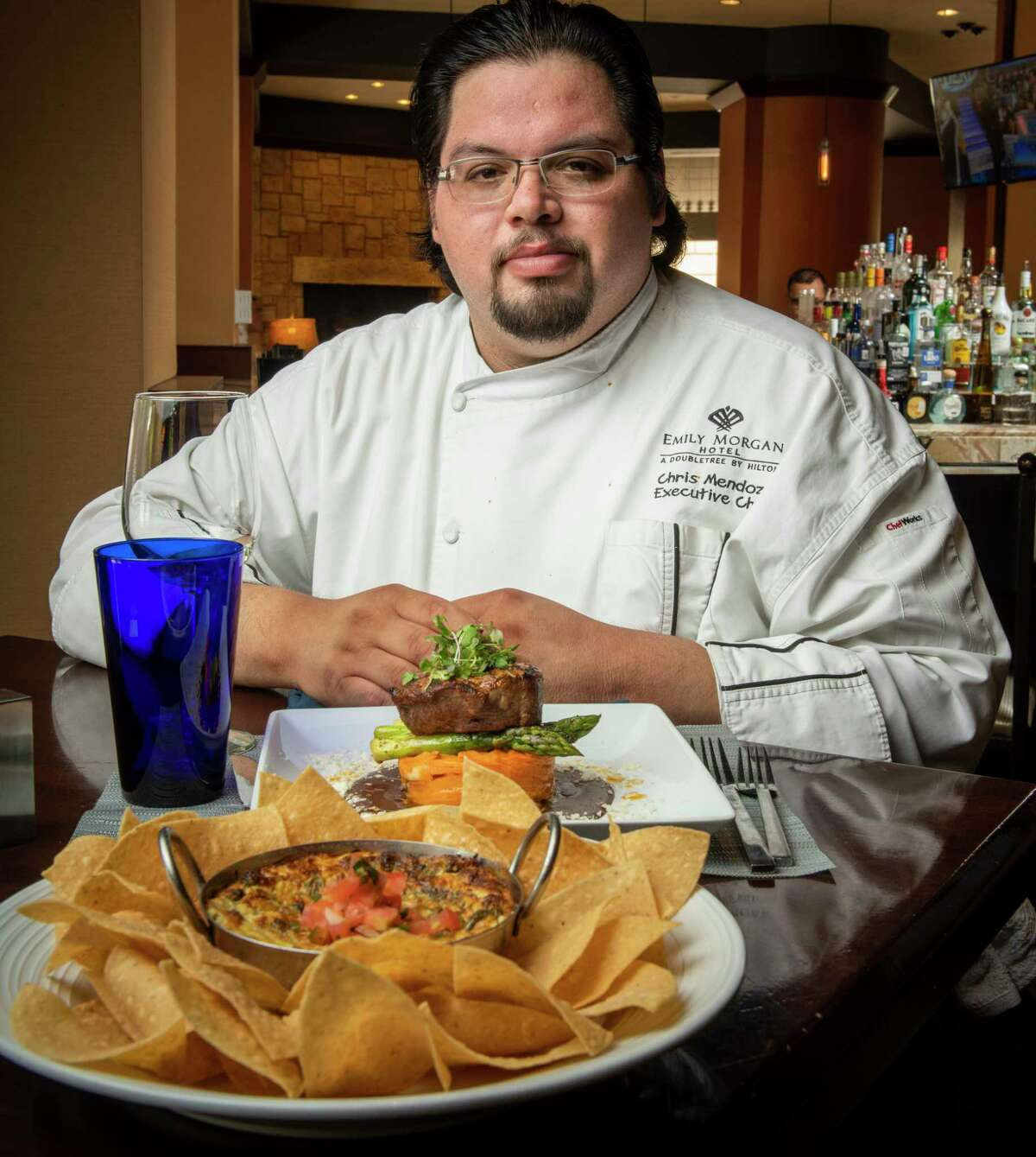 Oro Restaurant and Bar's executive chef Christopher Mendoza