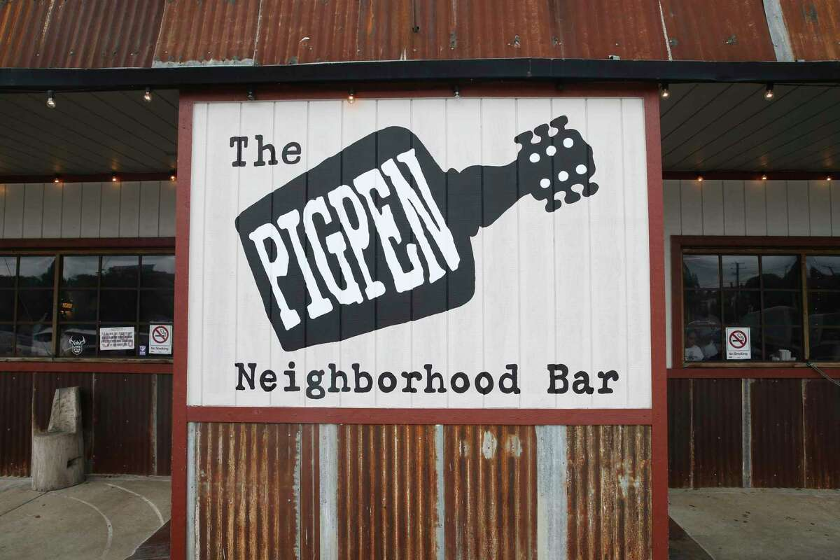 The Pigpen Bar is located at 106 Pershing Ave.