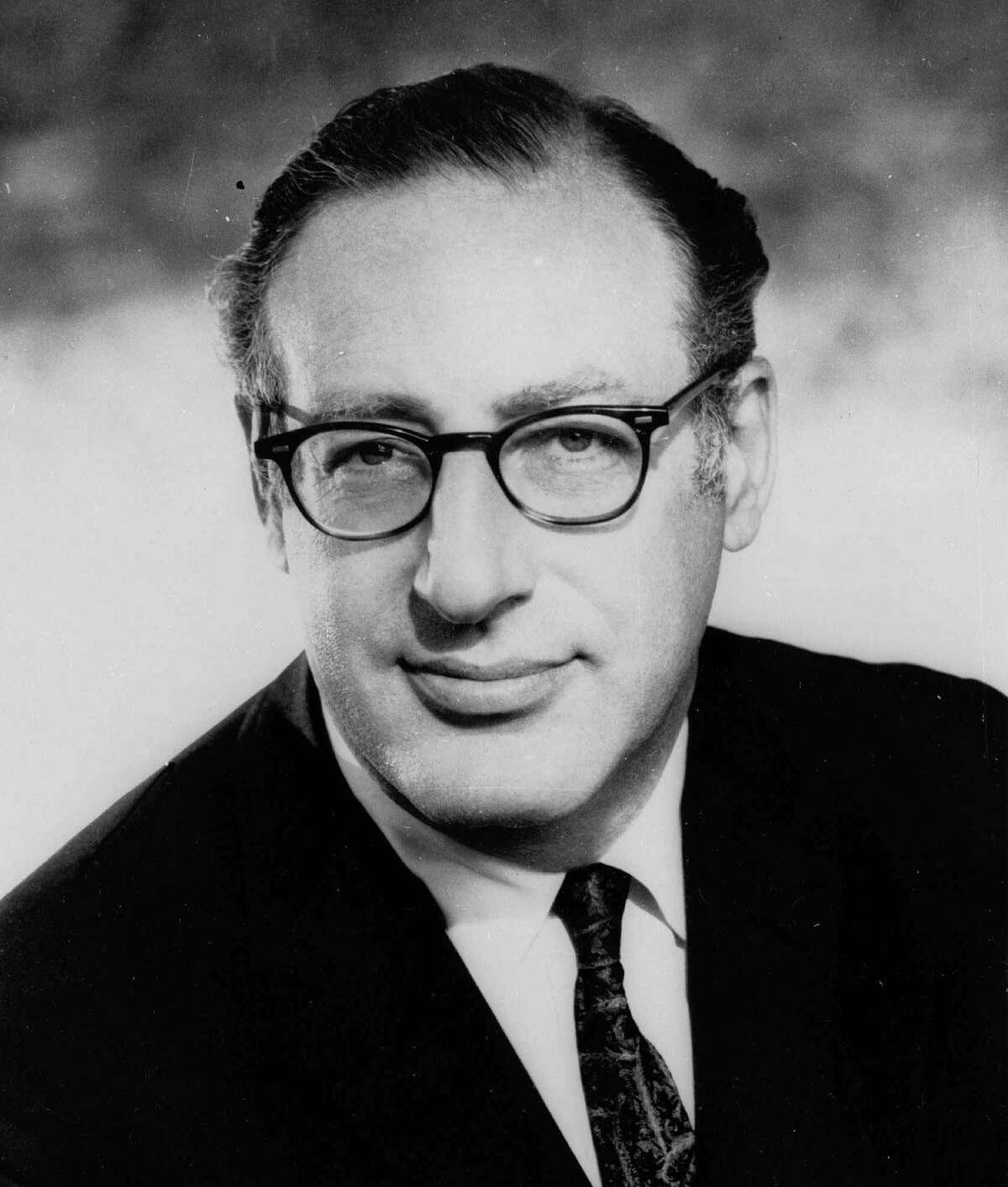 This is a 1970 file photo of Fred Friendly, former president of CBS News. Friendly, the pioneering television producer and onetime president of CBS News, died March 3, 1998, after a series of strokes.