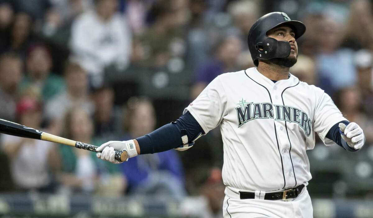 Acquired in an offseason trade with the White Sox, Seattle's Omar Narvaez ranks seventh among major league catchers with 11 homers and third with 39 runs.