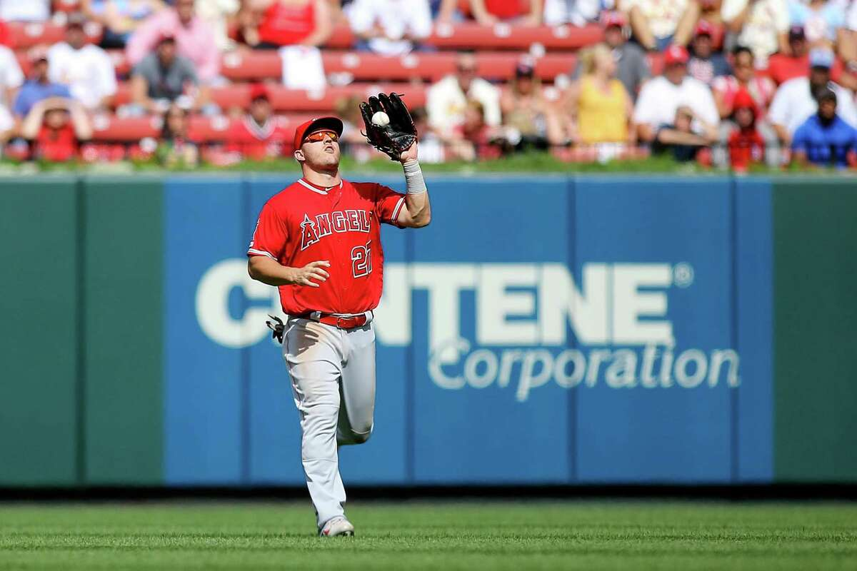 Los Angeles Angels outfielder Mike Trout will make his seventh consecutive All-Star Game start.