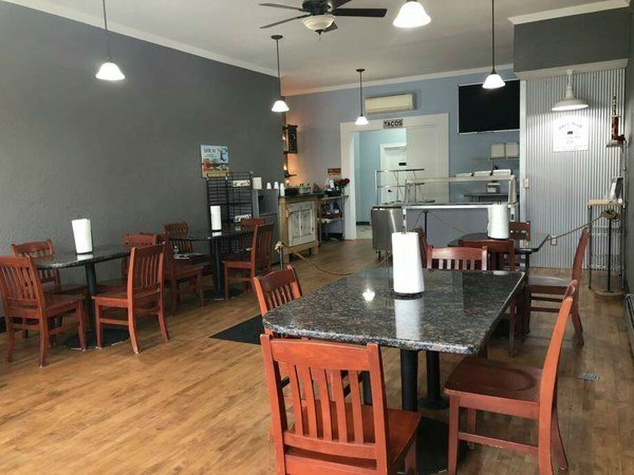 The interior of Pale Blue Barbecue Parlor at 121 E Cedar Ave. in downtown Gladwin.(photo provided)