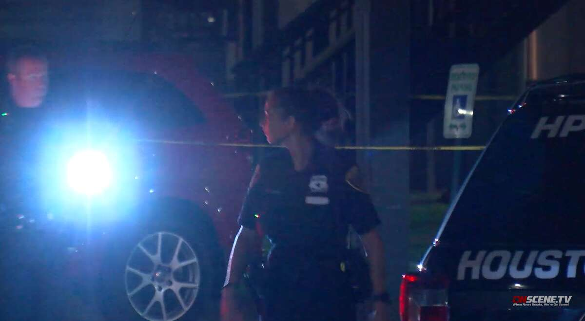 A man was killed Thursday night after approaching a dark sedan in a parking lot in far southeast Houston, police said.