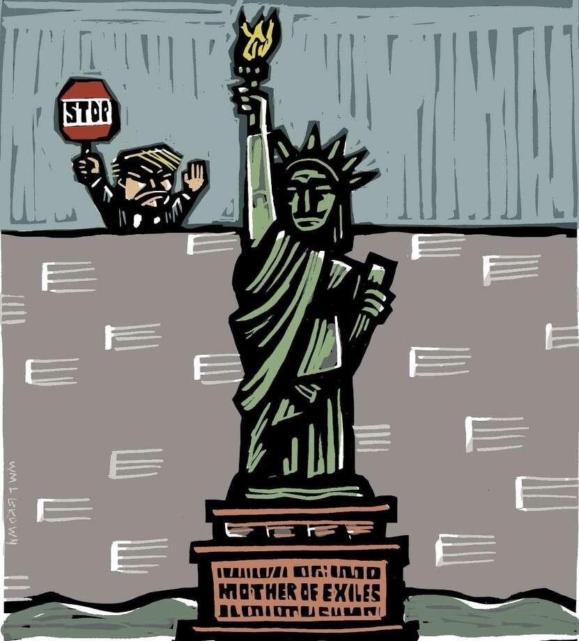 Immigration illustration Photo: William Brown / William Brown