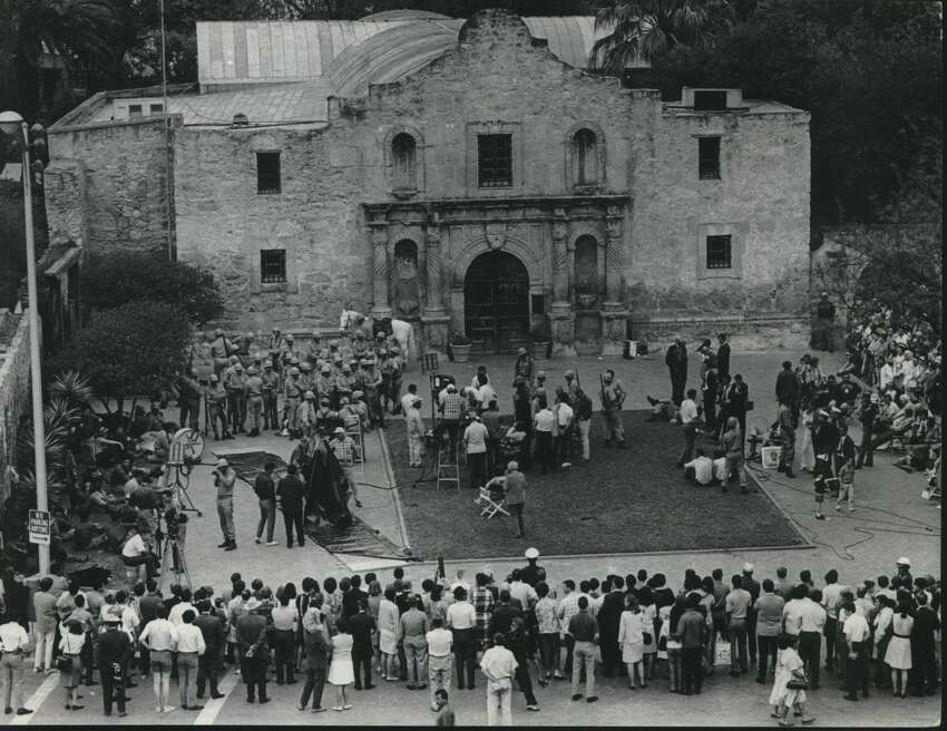 If San Antonians don't have enough reason to remember the Alamo (after all, the thing is sitting there in the middle of downtown), some people came to town last Spring and made a movie called