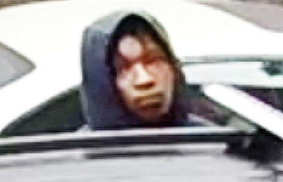 The Stratford Police is attempting to identify the car prowler suspect that was seen going through vehicles in the Stonybrook area of town on the morning of June 21, 2019. Photo: Stratford Police Photo