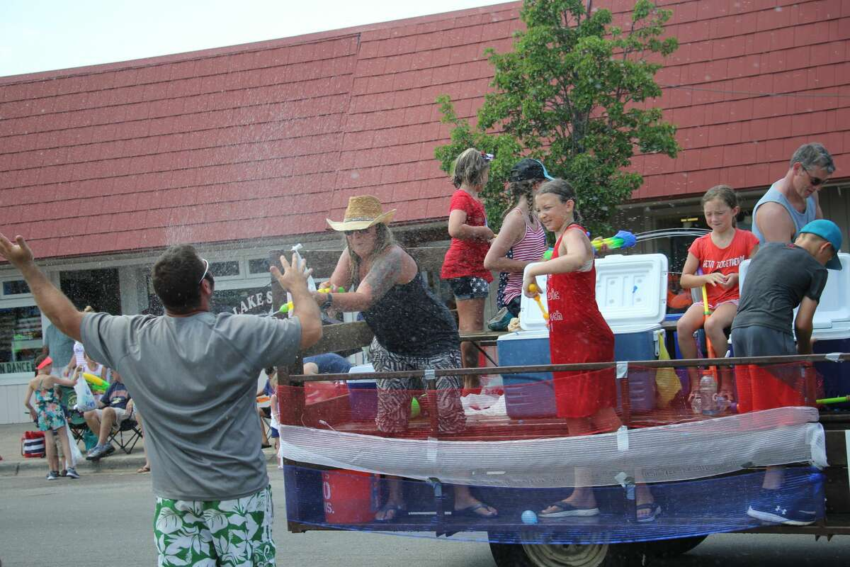 These are scenes from last year's Fourth of July parade in downtown Port Austin. The parade will once again be featured this Fourth of July, starting at 1 p.m.