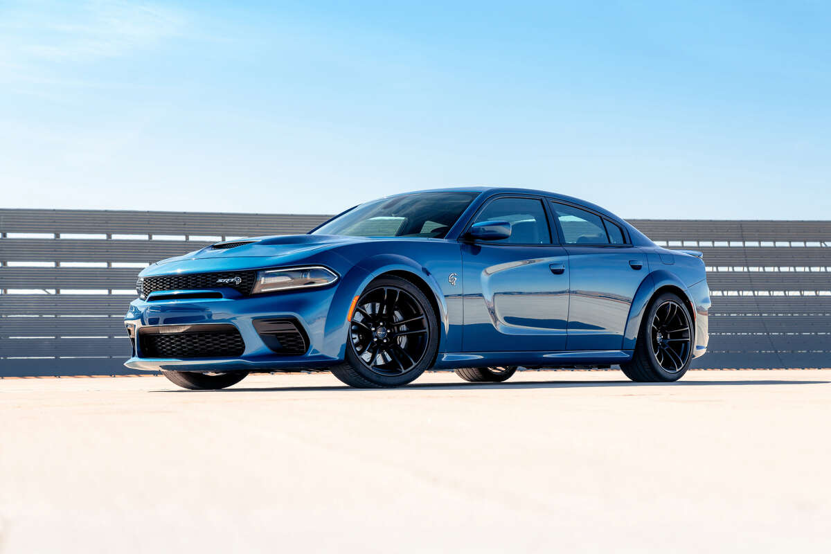 The Dodge Charger SRT Hellcat Widebody's 6.2-liter V8 produces 707 horsepower and 650 lb.-ft. of torque