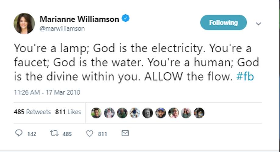 You're a lamp; God is the electricity. You're a faucet; God is the water. You're a human; God is the divine within you. ALLOW the flow. #fb