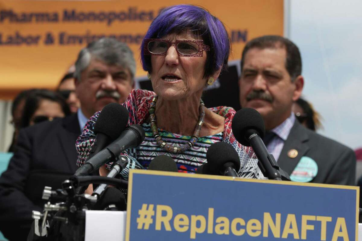 U.S. Rep. Rosa DeLauro, D-Conn., speaks during a news conference in front of the U.S. Capitol June 25, 2019 in Washington, DC.