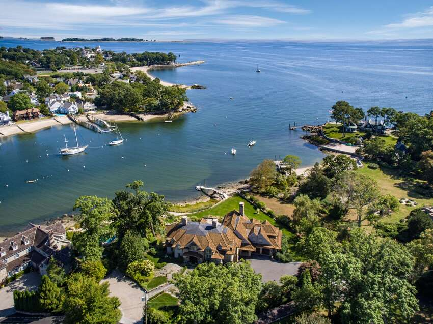 Butler's Island, Darien Category: Curb Appeal Price: $9,995,000 View listing