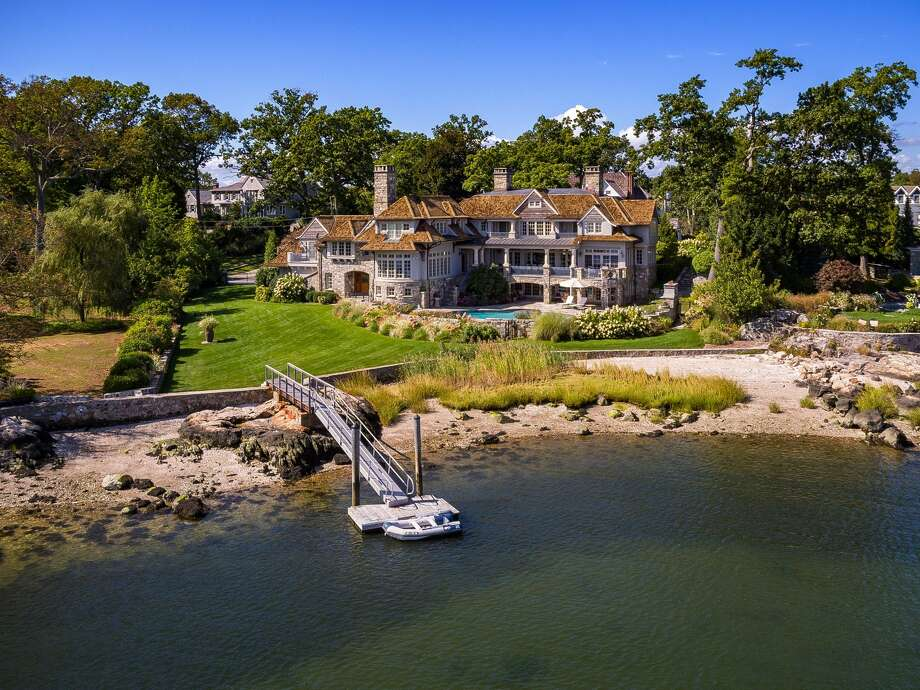 Butler's Island, Darien Category: Curb Appeal Price: $9,995,000 View listing Photo: Luxury Portfolio/Houlihan Lawrence