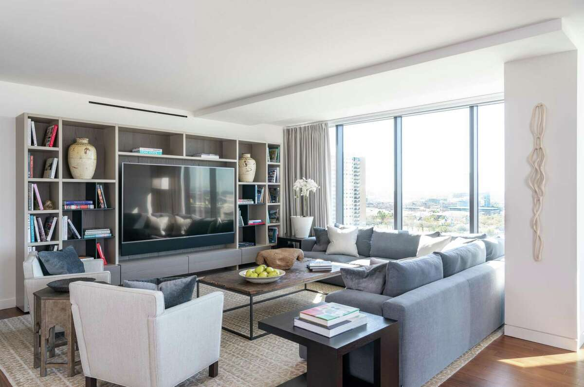 Tired of the work of a big, traditional house, Matt and Christy Galtney sold their West U home and moved into a condo on the 15th floor of The River Oaks high rise.