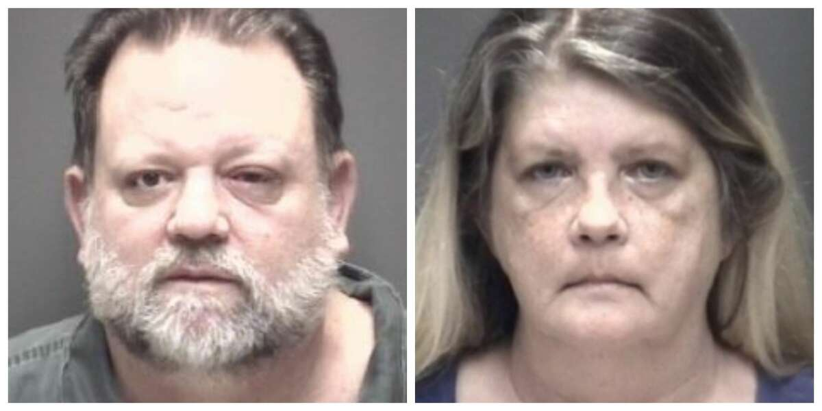 Gregory (left) and Josephine Goodnight were arrested June 20 and charged with securing a document through deception, court records show. Their bonds were set at $100,000 each.