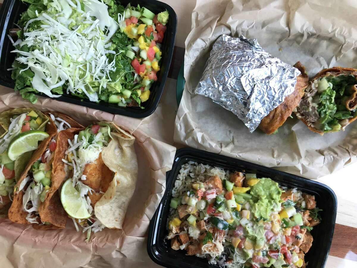 A selection of menu items from Cabo Bob's