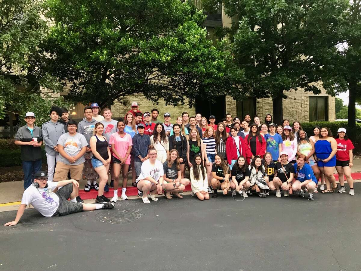 Plainview High School Choir Students participate at TSSEC on June 4, 2019. Some students were missing as they were traveling with the band.