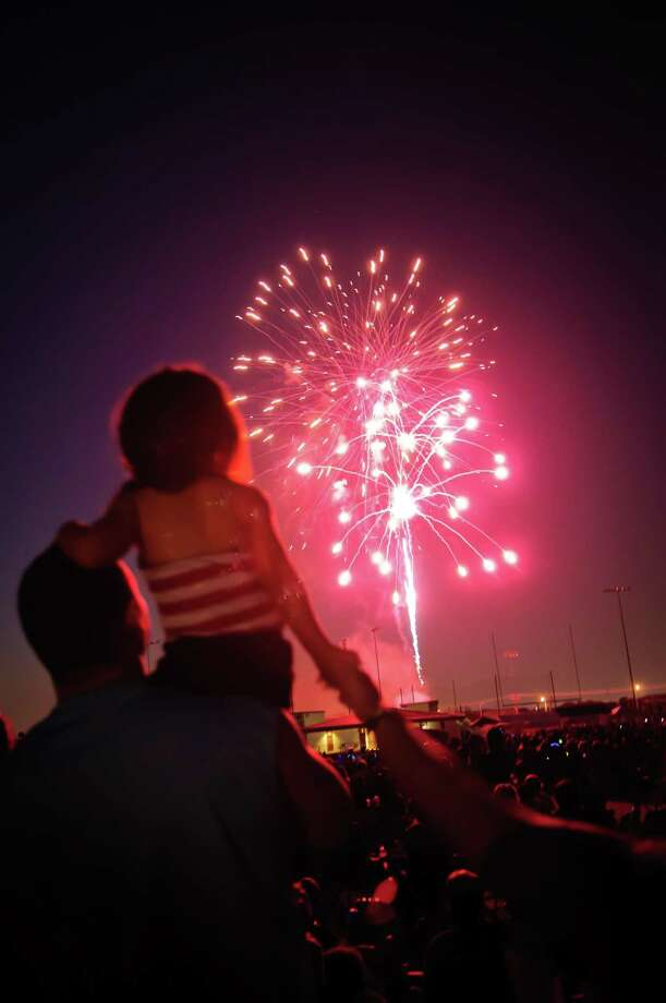 "In addition to the annual tradition of a fireworks display, the city of Pearland's Fourth of July celebration this year will be at Independence Park, where the event will showcase new features such as an amphitheater, stage, new playground and a mural. The musical headline act is former ""The Voice"" performer Jake Worthington at 8 p.m. Photo: Kim Christensen, Freelance / For The Chronicle / ©Kim Christensen"