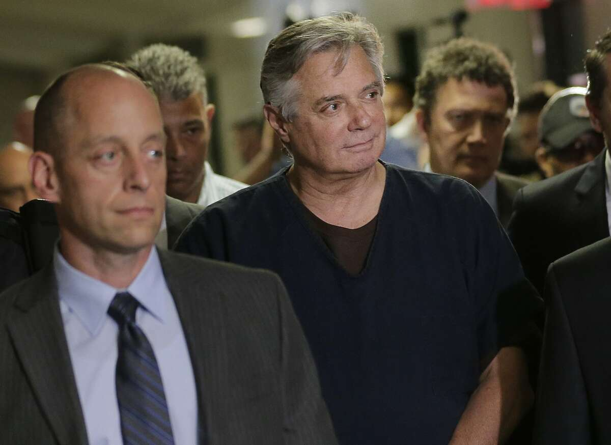 Paul Manafort arrives in court, Thursday, June 27, 2019 in New York. President Trump's former campaign manager is to be arraigned on state mortgage fraud charges. (AP Photo/Seth Wenig)