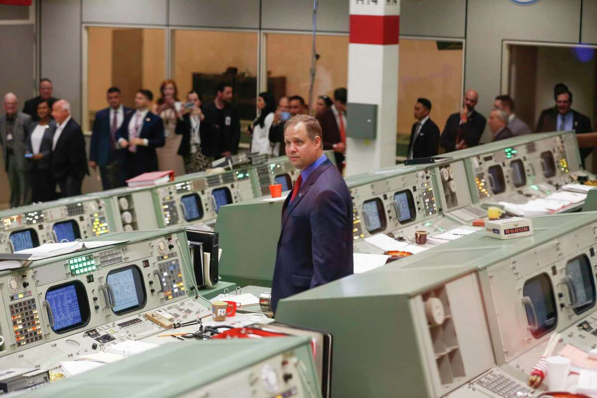 APOLLO RESTORATION: The historic Mission Control room opens for visitor viewing after a $5 million project to restore the historic mission control room to its glory days, by Alex Stuckey.
