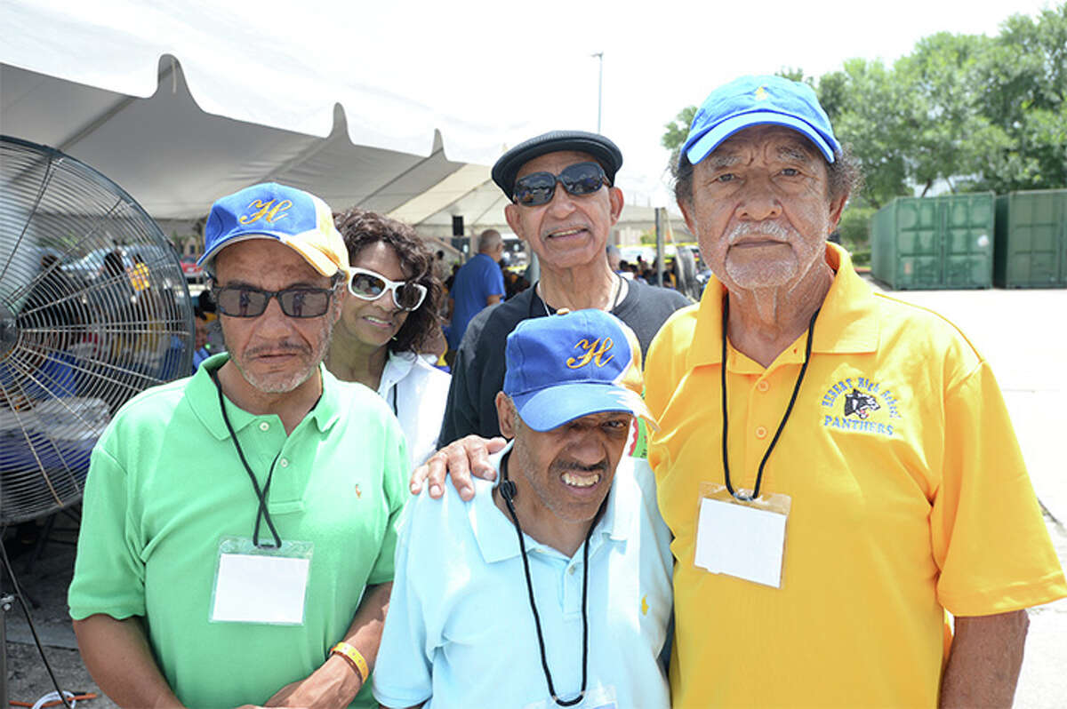 Photo taken at the mass reunion picnic for Hebert, Ozen and Beaumont United graduates. Photo taken Friday, 6/28/19