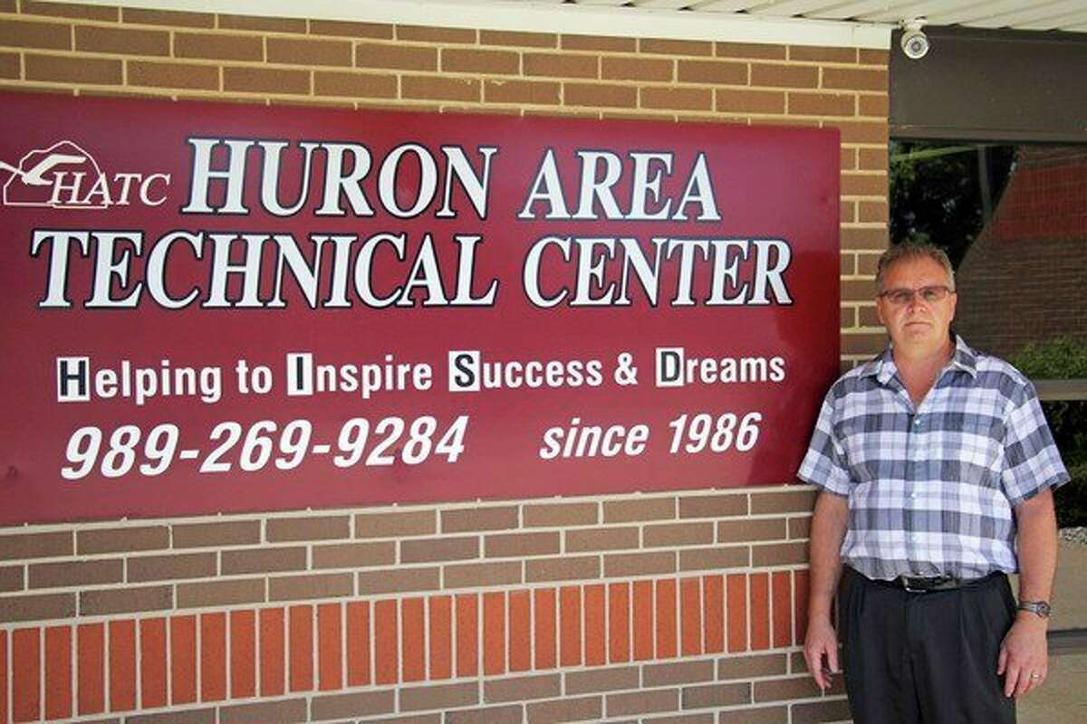 Clark Brock will be retiringafter today, following 39 years in education, including the last 11 as principal at the Huron Area Technical Center. (Seth Stapleton/Huron Daily Tribune)