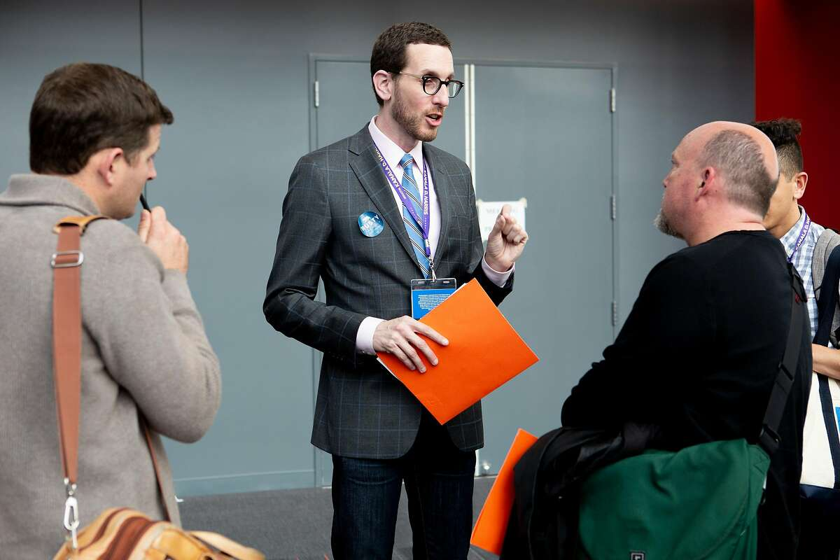 State Sen. Scott Wiener, D-San Francisco, at the CA Democratic Party Convention at the Moscone Convention Center on Friday, May 31, 2019, in San Francisco, Calif.