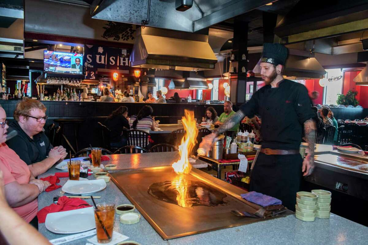 Sumo Japanese Steakhouse won Best Steakhouse in the 2019 Express-News Readers' ' Choice Awards.