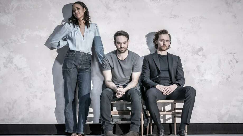 "Zawe Ashton, Charlie Cox, and Tom Hiddleston star in the Broadway revival of Pinter's ""Betrayal"" Photo: Marc Brenner / Contributed Photo"