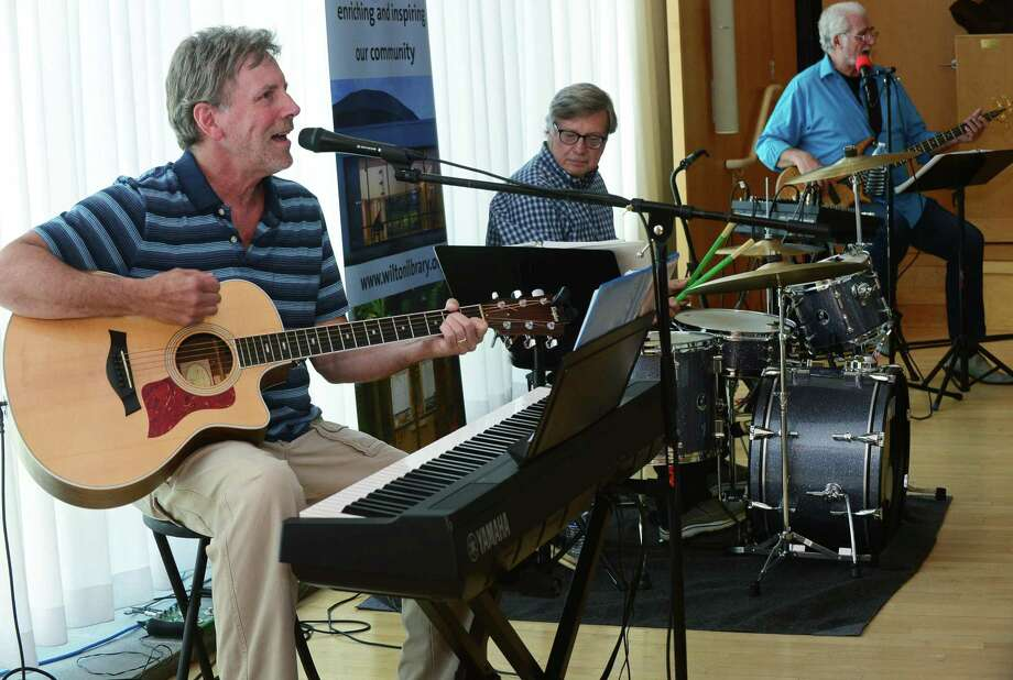 Over Easy, including Mark Holleran, Jim Zembruski and Steve Cinque, opens Wilton Library's 19th annual Summer Music & More Concert Series Thursday, June 27, 2019, in Wilton Conn. For its third year, Over Easy covers music of the early Beatles and others with engaging interactions with the audience. Photo: Erik Trautmann / Hearst Connecticut Media / Norwalk Hour