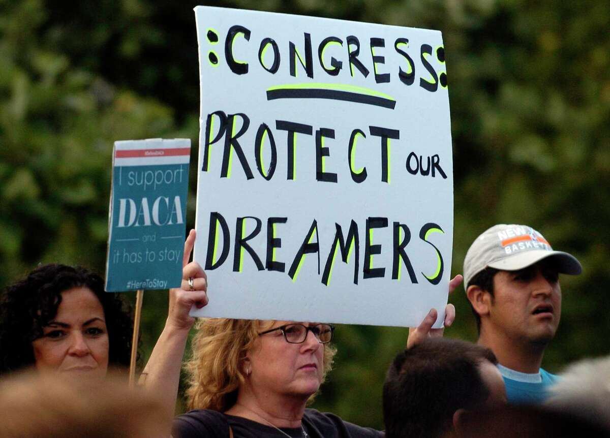 Advocates for youthful immigrants in Connecticut and elsewhere reacted with a mix of hope and caution to news Friday that the Supreme Court would review President Donald Trump's effort to end then President Obama's DACA program, which had given up to 800,000 of them legal status since 2012.