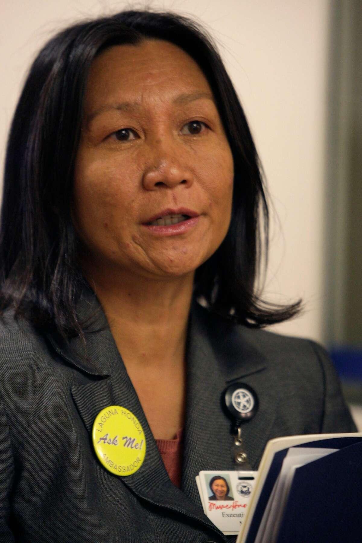 Mivic Hirose, R.N., Laguna Honda Executive Administrator, is seen at the new Laguna Honda Hospital in San Francisco, Calif. on Tuesday May 18, 2010.