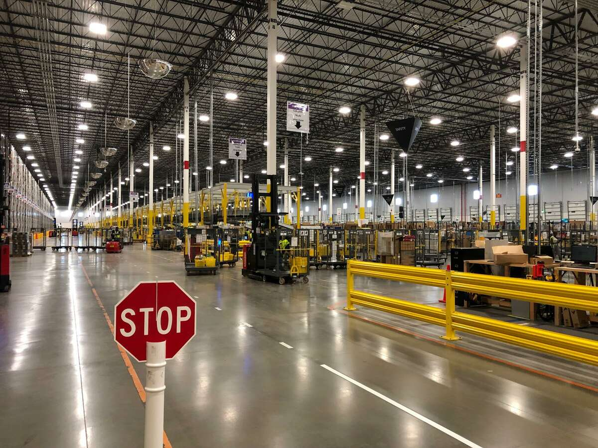 Amazon's Brookshire Fulfillment Center employs about 1,000 people. New facilities are expected to open in Richmond and Missouri City in 2021.