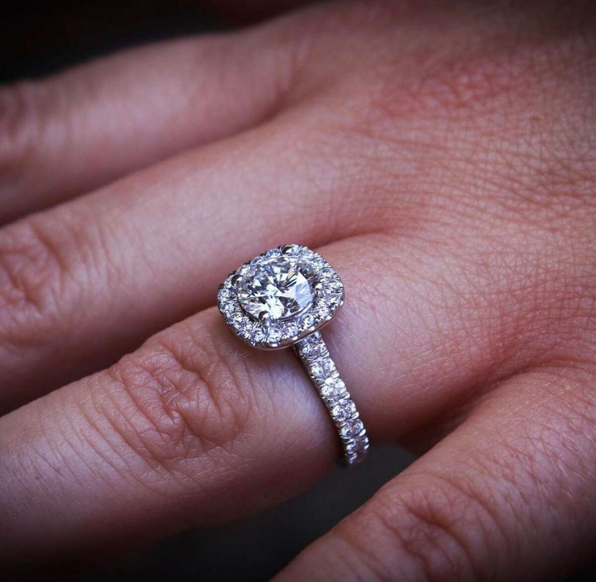 WNYT sports reporters Ashley Miller and Chris Onorato got engaged in Nashville.